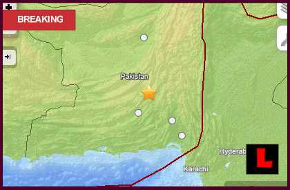 Pakistan Earthquake Today 2013: 7.8 Strikes Awaran
