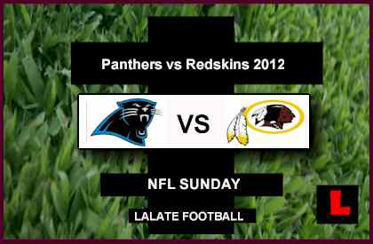 The Redskins Rule Returns with Panthers vs Redskins 2012 Score