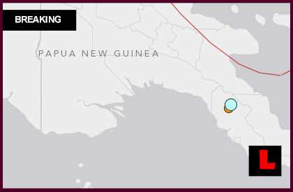 Papua New Guinea Earthquake 2014 Today Strikes Kokodal