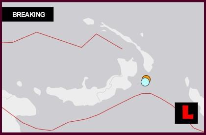 Papua New Guinea Earthquake Today 2014 Strikes Near Taron