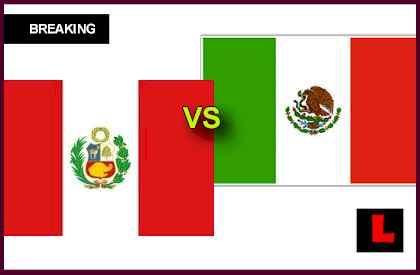 Peru vs. Mexico 2013 Battles in Soccer Friendly Today en vivo live score results today