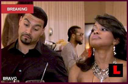 Phaedra Parks and Apollo False Divorce Reports Strike RHOA
