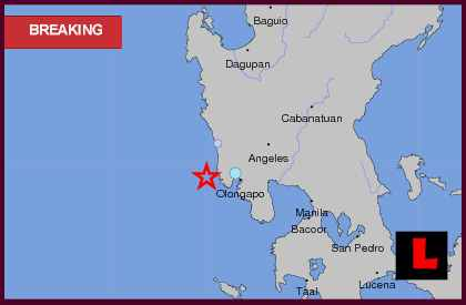 Philippines Earthquake Today 2013 Erupts West of Manila