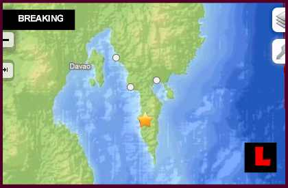 Philippines Earthquake Today 2013 Strikes Near Lupon