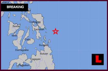 Philippines Earthquake Today 2012 Strikes Mindanao and Samar tsunami