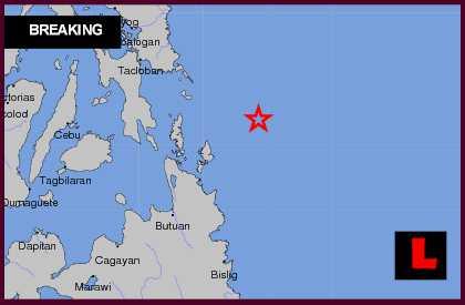 in samar the philippines earthquake today striking mindanao and samar