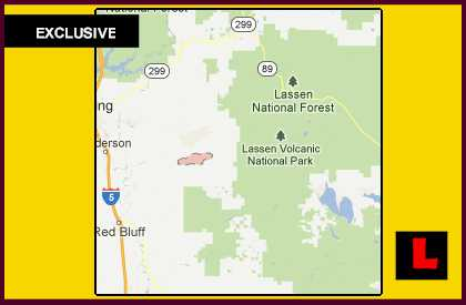 Ponderosa Fire Map 2012 Prompts Manton Concerns for Canyon View Loop