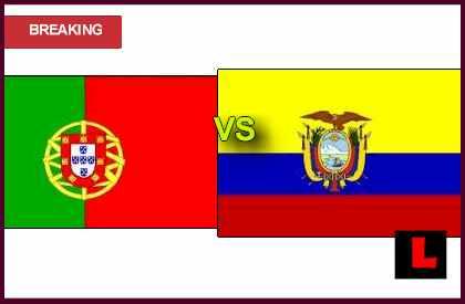 score results live en vivo soccer Portugal vs Ecuador 2013 Ignites Dom Afonso Henriques