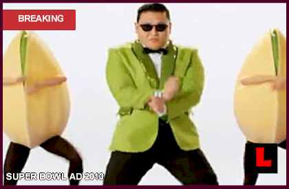 Psy Gangnam Style Pistachios Get Crackin in Commercial