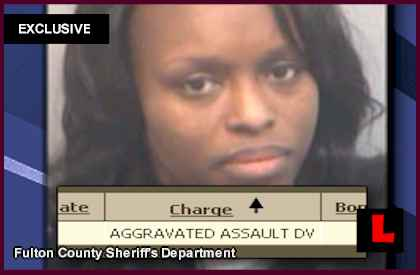 Quadriyyah Webb Married to Medicine Quadriyyah Monique Webb Quad Webb-Lunceford mugshot arrest police crime