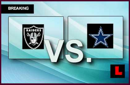 Raiders vs. Cowboys 2013: Greg Jenkins Scores on Fumble Return live score results channel today game
