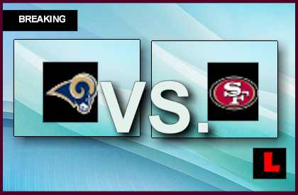Rams vs. 49ers 2013: Phil Dawson Scores 32 Yard Field Goal live score results channel today game