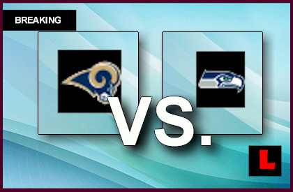 Rams vs. Seahawks 2013 Prompts Score Showdown Today live score results channel today game