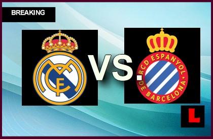 Real Madrid vs. Espanyol 2014 Ignites Copa Del Rey Score Results en vivo live score results