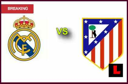en vivo live score Real Madrid vs. Atlético Madrid 2013 Heads to Copa Del Rey Finals