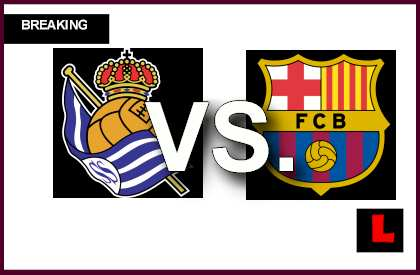Real Sociedad vs. Barcelona 2014 Score Heats up Copa Del Rey en vivo live score results
