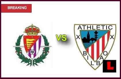 en vivo live score updates Real Valladolid vs. Athletic Bilbao 2013 Battle in Primera Today
