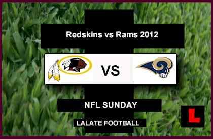 Redskins vs. Rams 2012: Robert Griffin III Narrow Sam Bradford Lead