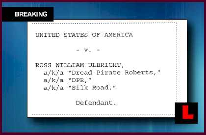 Ross William Ulbricht, Dread Pirate Roberts, Arrested for Silk Road Bitcoin