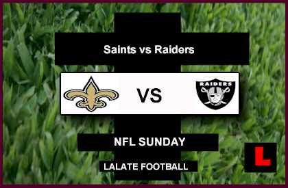 score live Saints vs. Raiders 2012: Carson Palmer Struggles in First Half