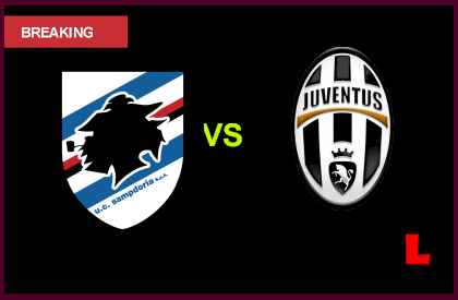 en vivo live score results today Sampdoria vs. Juventus 2013: Andrea Pirlo Battles Real Madrid Rumors