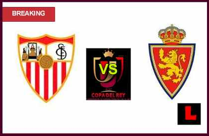 en vivo live score Sevilla vs. Real Zaragoza 2013 Battles in Copa del Rey Quarterfinals