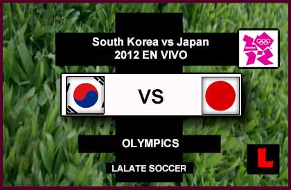 South Korea vs Japan 2012 Compete for Olympics Soccer Bronze