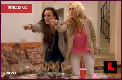 Stars in Dangers Casts Kim Richards, Kyle Richards