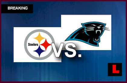 Steelers vs. Panthers 2013: Paulson, Ginn Score Early TD Passes live score results today