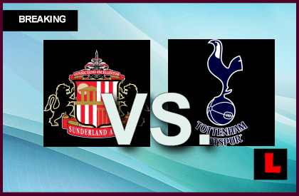Sunderland vs. Tottenham Hotspur 2013 Delivers Score Struggle Today live score results channel today game