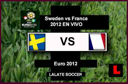 Sweden vs France 2012 Battle in Euro 2012 Group Round