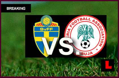 Sweden vs. Nigeria 2013: Kelechi Iheanacho Prompt Score Battle en vivo live score results today