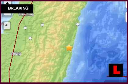 Taiwan Earthquake Today 2013: 6.6 Strikes Near Hualian