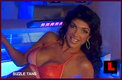 Teresa Giudice Sizzle Tans Money Troubles