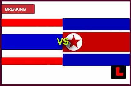 score live results Thailand vs. Korea DPR 2013 Prompts International Friendly Showdown