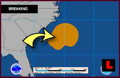 Tropical Storm Beryl 2012 Puts Florida in its Projected Path Today
