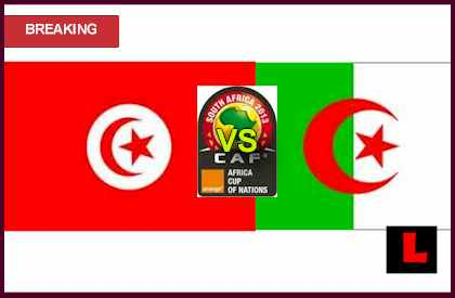 score live results Tunisia vs. Algeria 2013 Kicks off Africa Cup of Nations Group D