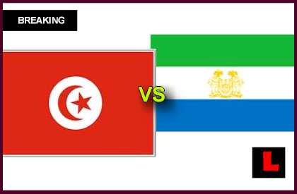 en vivo live score results today Tunisia vs Sierra Leone 2013 Fends for World Cup Spot