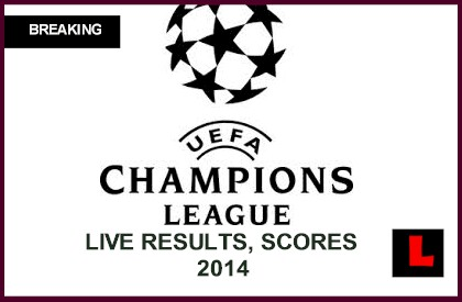 Champions League Today Scores