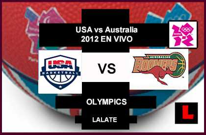 USA vs Australia 2012 Battle in Olympics Quarterfinals Basketball