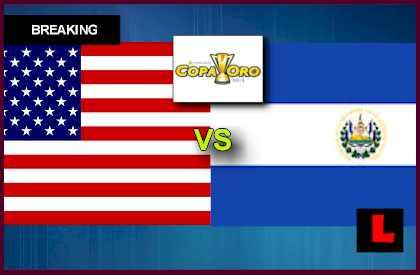 USA vs. El Salvador 2013 Copa Oro Soccer Game Seeks Gold Cup Standings en vivo live score results todayl