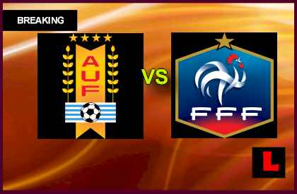 Uruguay vs. France 2013 Prompts Soccer Friendly Today en vivo live score results today