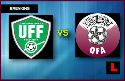 Uzbekistan vs. Qatar 2013 Seeks World Cup Bid en vivo live score results today world cup