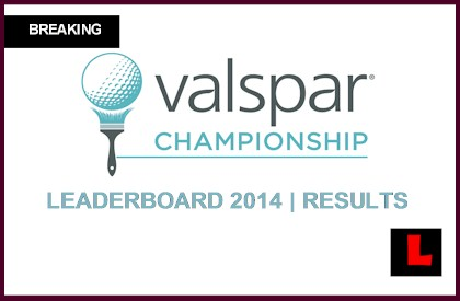 Valspar Championship Leaderboard 2014 Live Results Prompt Close Scores live today tee times golf