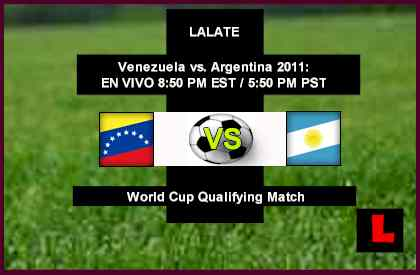 Venezuela vs. Argentina 2011: Lionel Messi, Gonzalo Higuaín Maintain Dominance