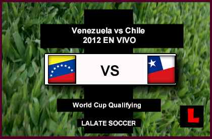 Venezuela vs Chile 2012 Confront Table Rankings Today