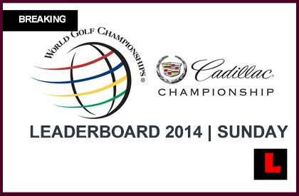 wgc cadillac championship 2014 leaderboard tiger woods repeat winner. Cars Review. Best American Auto & Cars Review
