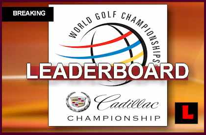 wgc cadillac championship 2014 leaderboard johnson surges in results. Cars Review. Best American Auto & Cars Review