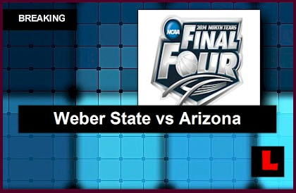Weber State vs. Arizona 2014 Delivers NCAA Basketball Score Battle live results today ncaa men's college basketball bracket printable