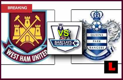 score live lineup West Ham United vs. QPR 2013 Deliver Premiere Match Today